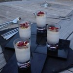 White Chocolate and Honeycomb Parfait