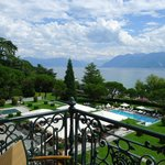 Room with a view on the Beau-Rivage gardens