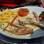 Rauw en vet lamsvlees