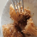 My favorite Turkish desert is Baklava and here i feel like at heaven. Crispy dough with soft syr