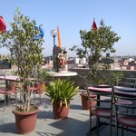 roof restaurant Lal's Haveli