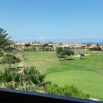 Golfblick aus der zweiten Etage
