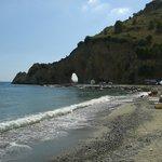 Spiaggia Arco Naturale