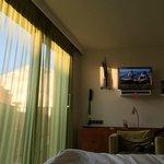 Noe av utsikten fra sengen