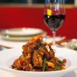 Crispy Pork Belly w/ Red Curry Paste