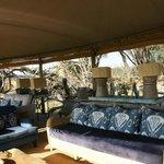 Lounge du lodge