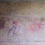 Affreschi nel portico della Pieve di Sant'Andrea a Cercina