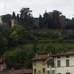 """La Rocca vista dal """"vallone"""""""