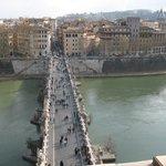 Il ponte Miglio visto dal Castello