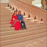 The Grand Staircase! Warm Welcoming experience. Wonderful!