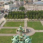 Berliner Dom view from the top