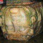 Basilica Cistern - recycled head