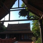 one of the Thai houses, the pink suite