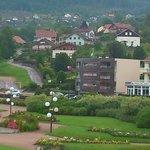 Vue de l'Hotel Beau Rivage