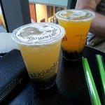 Jasmine and Mango teas