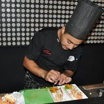 Head Chef preparing Special Sushi