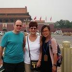 Joe, Kim and Skye