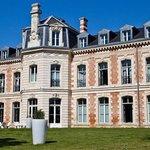 Hôtel du Château : Vue jardin