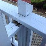 broken railing