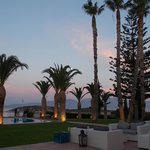 Our last night at Sensimar Minos Palace. :(