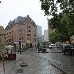 l'hotel e la piazzetta