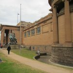Front right of the Art Gallery of NSW