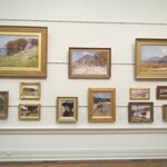 A wall of excellent Impressionist Art from Australian Artists