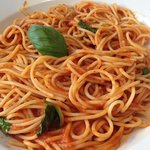 spagetti abd sauce