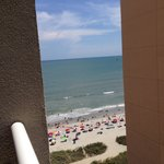 10th floor ocean view from balcony