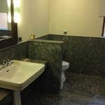 Large spacious bathrooms