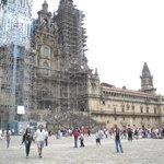 Catedral y Palacio de Xelmirez en Praza do Obradoiro