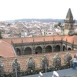 Palacio de Xelmirez desde la cubierta de la catedral