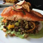 Circa's Salmon w/ Lentils
