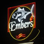 Embers Logo sign