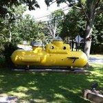 yellow submarine , a 300 m du Drake inn sur la route