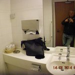 bathroom in lobby