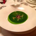 Strong green minestrone