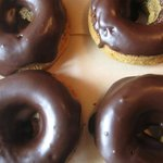Chocolate Dipped Donuts (Gluten-Free and Vegan always)