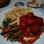 Cena,menù del dia, un  secondo piatto