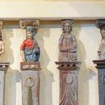 Церковь Святого Духа, деталь деревянной резьбы