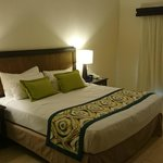 King size bed at building 9