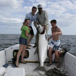 Great Tarpon Fishing. My son caught this a few years ago on a 2 hour trip w Capt Voyles