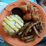 Coconut Shrimp Plate