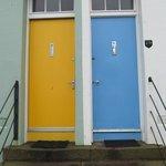 Colorful Doors, North Berwick