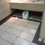 Lobby's bathrooms