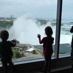 Our kids were so excited about the view from our room - we were too!