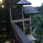 Balcon devant la chambre