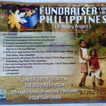 Hosted a Haiyan fundraiser for the people of The Philippines