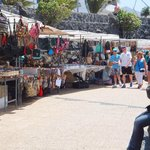 Market at Playa Blanca, Lanzarote.... for men there are places for a drink a little further on !