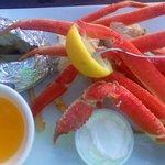 Crabe à décortiquer soi-même ! Bon courage...